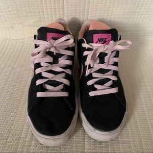 Nike CLASSIC Sneakers Black/Pink Women's SZ 9.5